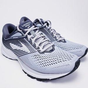 NEW Brooks Launch 5 Shoe Men's Running White-Gray